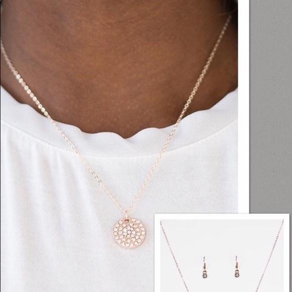 Paparazzi Jewelry Rose Gold Short Necklace Poshmark